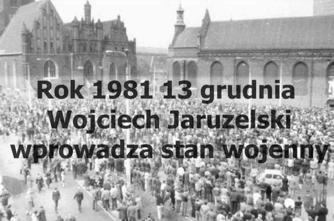 """""""1981 год, 13 декабря. Войцех Ярузельский вводит военное положение""""."""