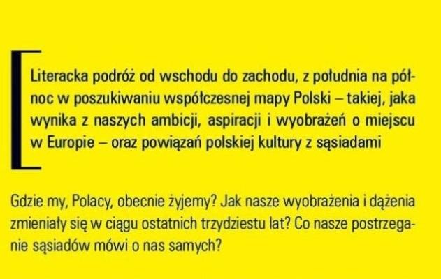 """Przemysław Czapliński """"Poruszona mapa"""" - fragment"""