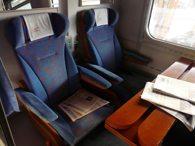 Купе першого класу в потязі PKP Intercity
