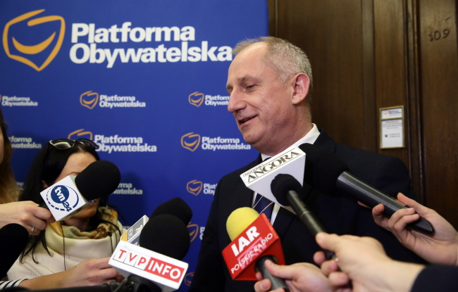 Sławomir Neumann. Photo: PAP/Tomasz Gzell