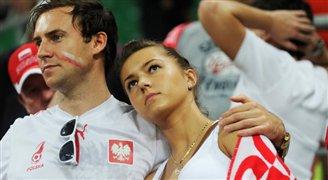Polnische Fans auf dem Weg nach Kasan