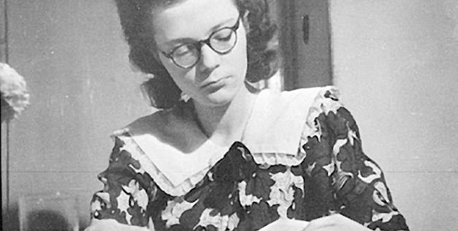 Wiesława Grzegorzewska war eine der Sprecherinen beim Radio Majdanek