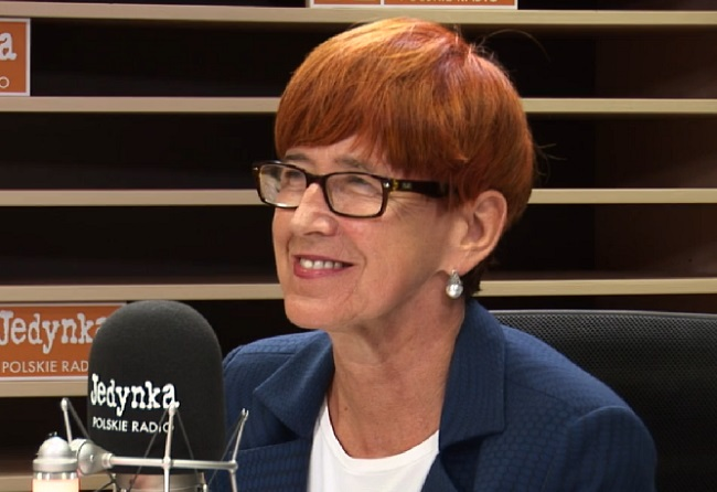 Elżbieta Rafalska, Poland's minister for family, labour and social policy. Picture: Polish Radio