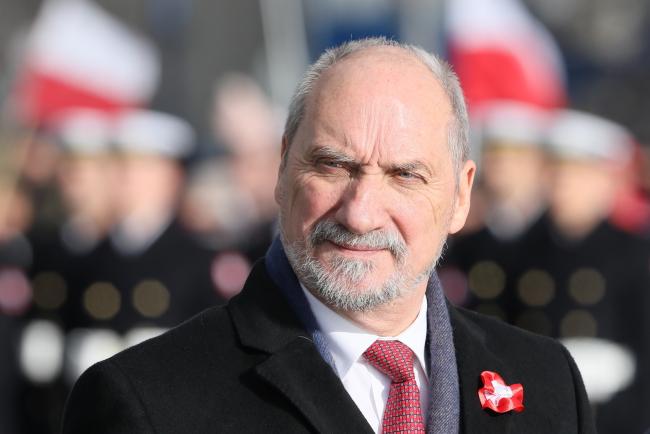 Министр обороны Польши Антони Мацеревич.