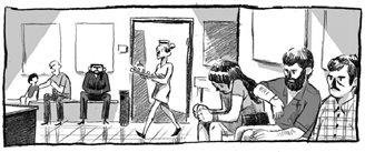 """""""Tylko spokojnie"""" - komiks o śmiertelności i o życiu"""