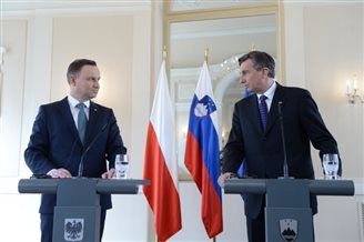 Polish, Slovenian presidents outline vision for EU