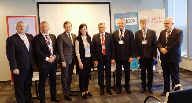 Учасники транспортної дискусії Дня українського бізнесу -2017