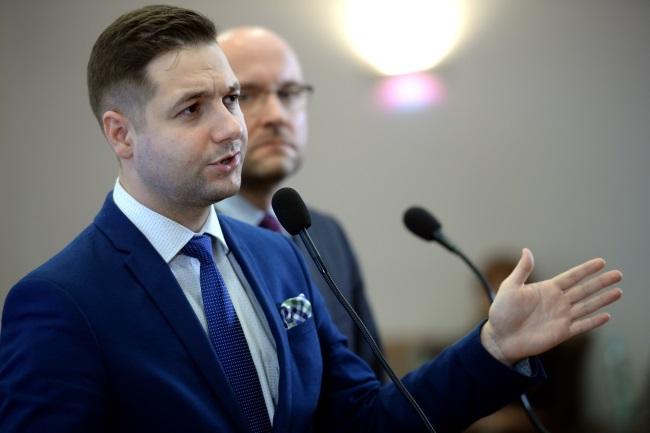 Poland's Deputy Justice Minister Patryk Jaki. Photo: PAP/Jacek Turczyk