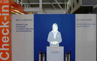 Virtual assistant joins staff at Warsaw Chopin Airport