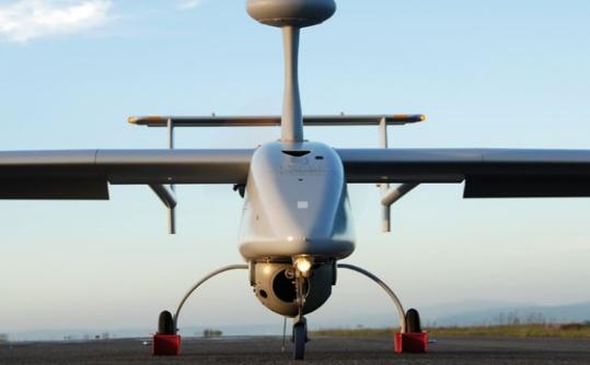 The Israeli Unmanned Air Vehicle (UAV) Aerostar. Photo: www.aeronautics-sys.com