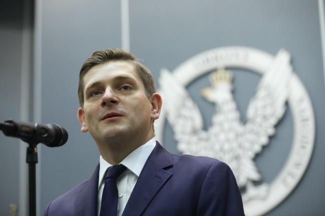 Deputy Defence Minister Bartosz Kownacki. Photo: PAP/Rafał Guz