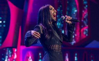 Conchita Wurst makes Polish debut
