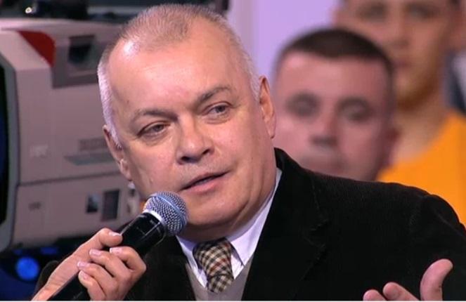 Російський пропагандист Дмітрій Кісєльов