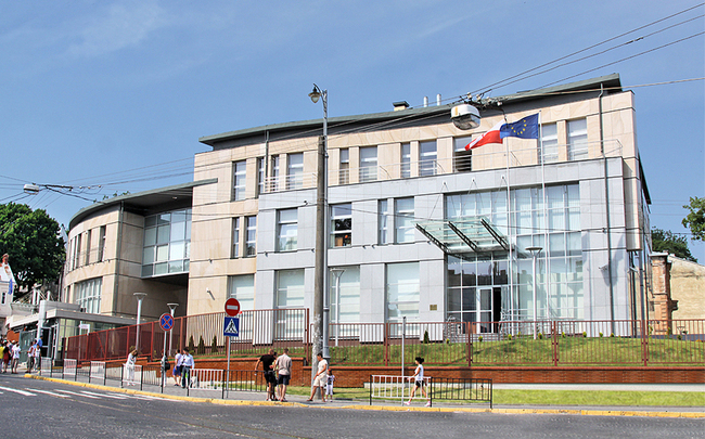 The Polish Consulate in Lviv, western Ukraine. Photo: lwow.msz.gov.pl
