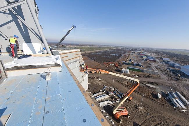 Строительство американской базы в румынском городе Девеселу. Фото: flickr.com