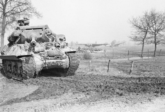 An Achilles tank in action in 1945. Photo: Wikimedia Commons