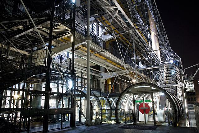 Centre Pompidou, Paris. Photo: Jorge Royan/Wikimedia Commons