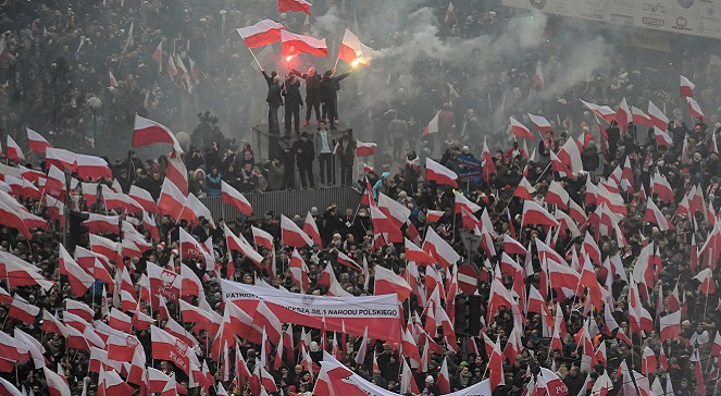 Марш независмости, Варшава, 11 ноября.