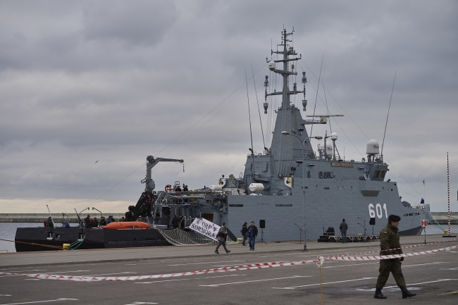 The ORP Kormoran moored in the port of Gdynia. Photo: PAP/Adam Warżawa