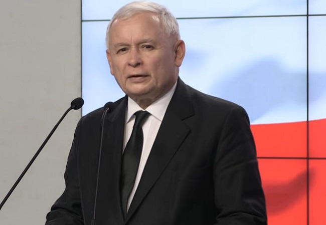 Jarosław Kaczyński. Photo courtesy of Law and Justice (PiS)