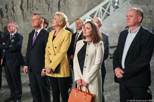 Президенты Польши и Словакии вместе с супругами встретились 15 мая в Величке