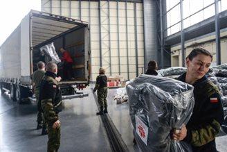 Polish aid packages reach Nepal