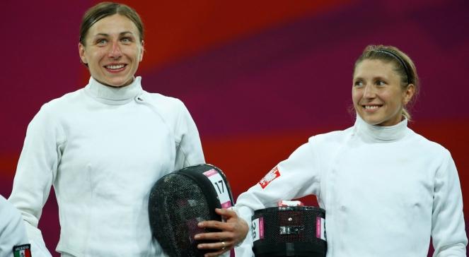 Polskie pięcioboistki Katarzyna Wójcik i Sylwia Gawlikowska