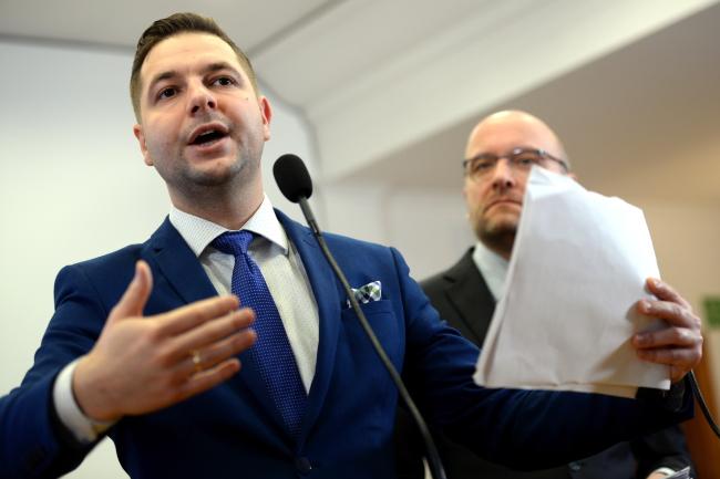 Deputy Justice Minister Patryk Jaki. Photo: PAP/Jacek Turczyk