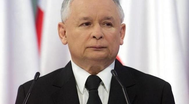 Parteichef Jarosław Kaczynski