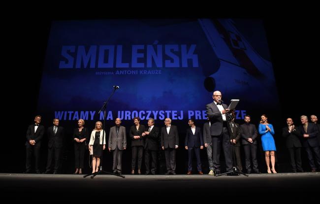 """Премьера киноленты """"Смоленск"""" состоялась в Большом Театре - Национальной опере в Варшаве."""