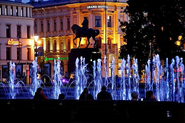 Литовская площадь в Люблине