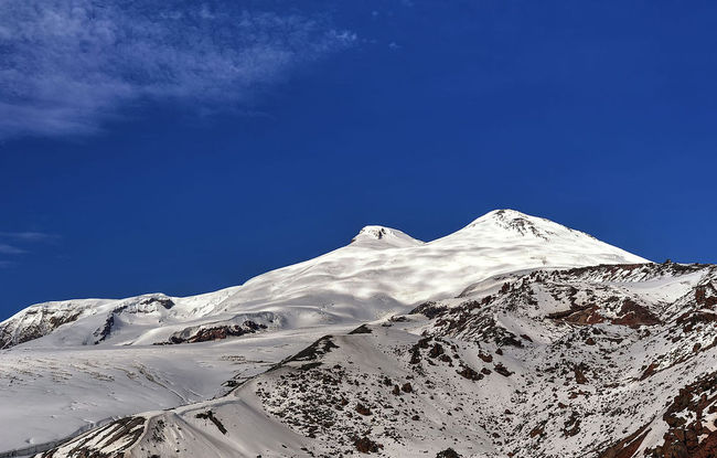 Mount Elbrus. Photo: wikimedia commons/Alex Svirkin