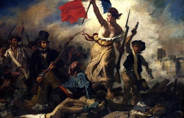 Сводоба, що веде народ. Полотно Ежена Делакруа (1830)