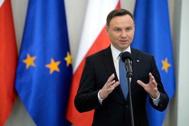 President Andrzej Duda. Photo: PAP/Jacek Turczyk