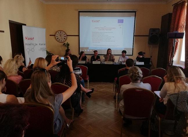 """Конференція """"Бути мігранткою у Польщі"""""""
