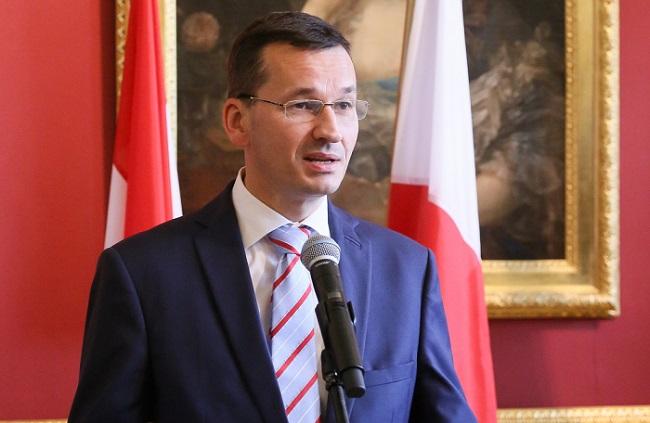 Mateusz Morawiecki. Photo: PAP/Paweł Supernak