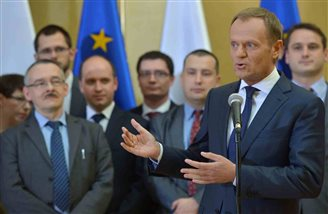 Tusk trumpets ten years in EU