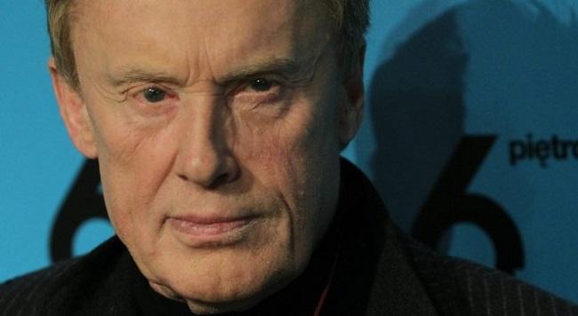 Польский актер Даниэль Ольбрыхский.