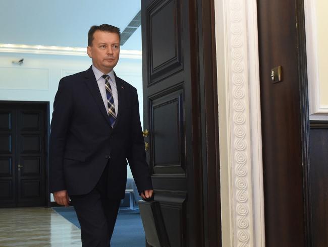 Глава МВД Польши Мариуш Блащак.