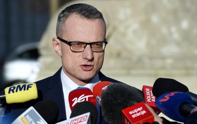 Presidential spokesman Marek Magierowski. Photo: PAP/Radek Pietruszka