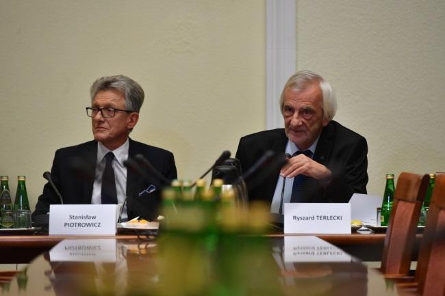 Poland's Deputy Sejm (lower house) Speaker Ryszard Terlecki (right). Photo: PAP/Bartłomiej Zborowski