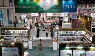 Polish pages at the Abu Dhabi Book Fair