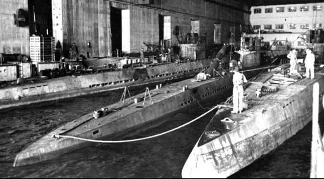 Док для рамонту падводных лодкаў