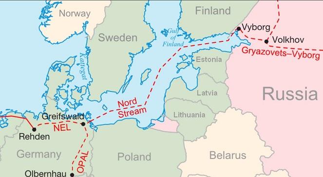 Газопровод OPAL является сухопутным продолжением «Северного потока», который доставляет газ из России в Европу в обход транзитных государств – Украины и Польши.