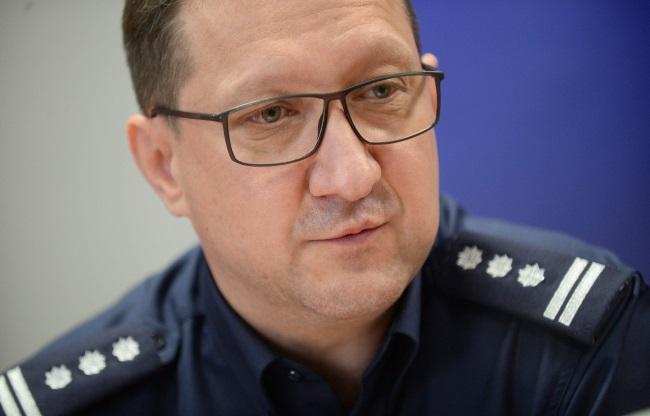 Inspector Robert Żebrowski, pictured last year. Photo: PAP/Bartłomiej Zborowski