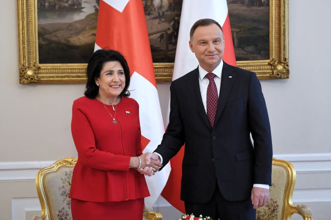 Дуда: Польща підтримувала і буде надалі підтримувати Грузію