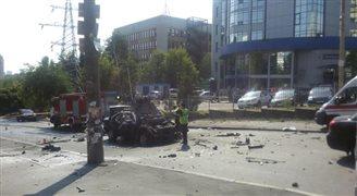 Ukraina: oficer wywiadu zabity w zamachu w Kijowie