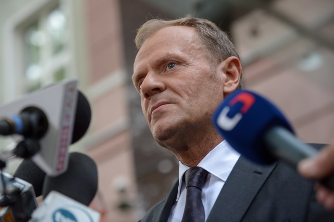 Donald Tusk. Photo: PAP/Marcin Obara