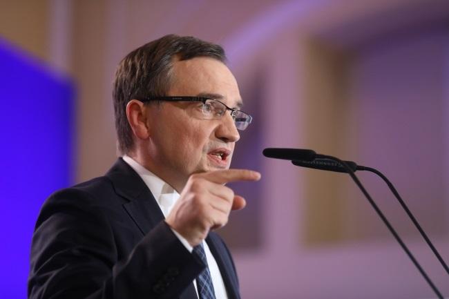 Justice Minister Zbigniew Ziobro. Photo: PAP/Rafał Guz