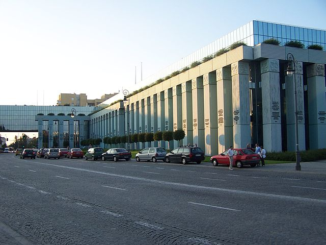 Здание Верховного суда Польши в Варшаве